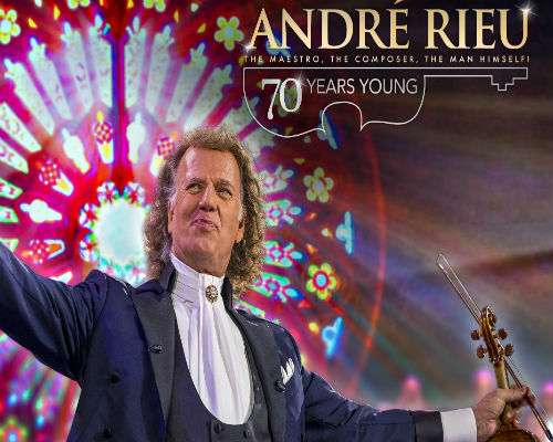 ANDRE RIEU -7O YEARS YOUNG