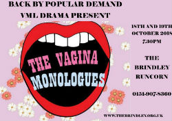 THE VAGINA MONOLOGUES.