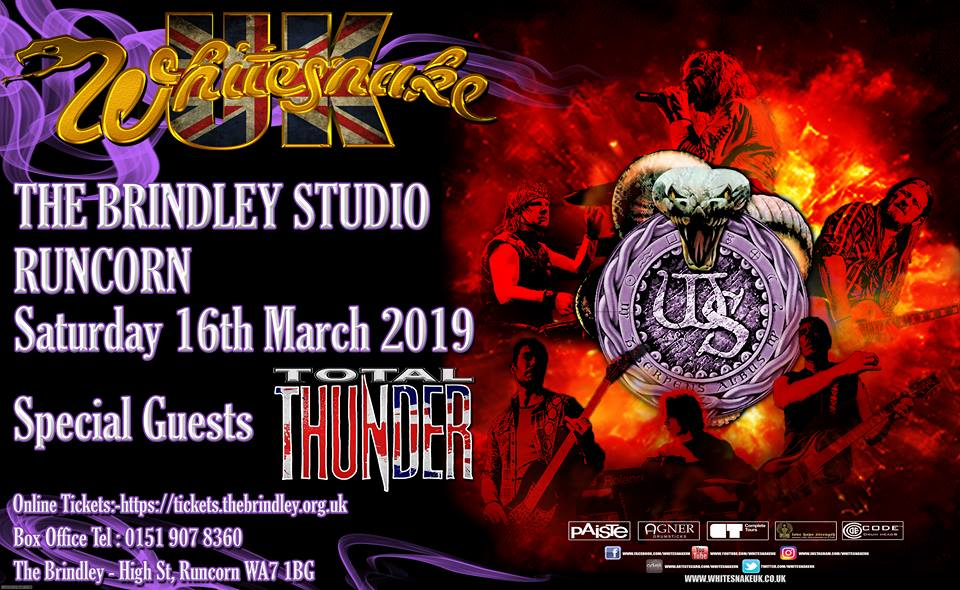 WhitesnakeUK play tribute to the very best of David Coverdale's multi platinum selling band, Whitesnake.