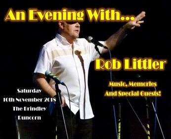 AN EVENING WITH ROB LITTLER + FRIENDS