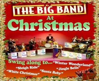Monday 17th December 20187.30pmFull price: £20.00, Concessions: £18.00All prices include booking feesSwing 'n' sing-along into Christmas - with the unique Five Star Swing Big Band show – as featured at London's Leicester Square Theatre and BBC Children in Need .