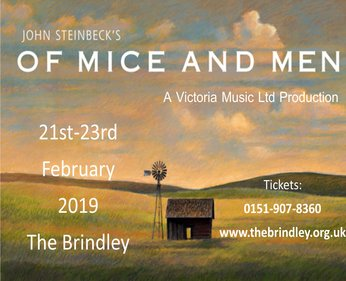 Thursday 21st - Saturday 23rd February 20197.00pmFull price £13.00All prices include booking feesPresented by Victoria Music Group