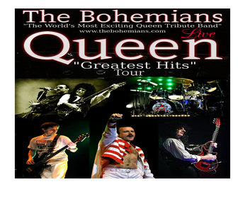 THE BOHEMIANS-QUEEN GREATEST HITS SHOW