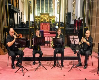 Friday 26th April 20197.30pmFull price: £14.00All prices include booking feesIntroducing the Brassworks Quartet in concert with Per Nielsen as special guest artist.