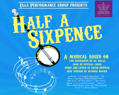 Saturday 22nd February at 7.00pm and Sunday 23rd February at 2.00pm and 7.00pmFull price £16.00All prices include booking fees Presented by ELLA PERFORMANCE GROUP