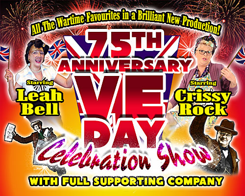 Monday 4th May 2020Full price £22.00 Groups 10+ £20.00All prices include booking feesStarring Crissy Rock & Leah Bell plus full supporting cast