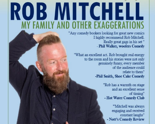 MY FAMILY AND OTHER EXAGGERATIONS - ROB MITCHELL