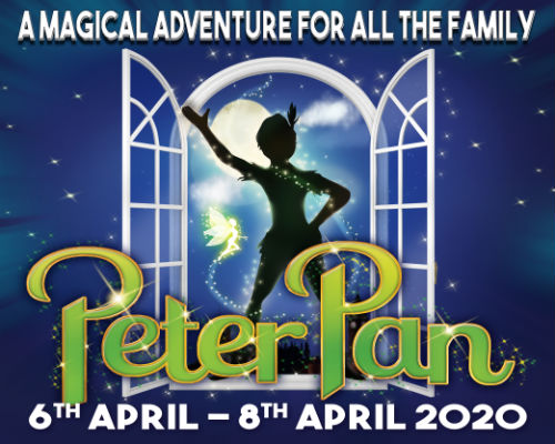Monday 6th - Wednesday 8th April 2020Monday 7.00pm Tuesday 2.30pm & 7.00pm Wednesday 2.30pm & 7.00pmFull price £16.50 Concessions £14.50Family tickets available.All prices include booking fees