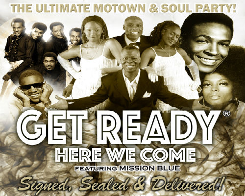 Sunday 2nd February 20207.30pmFull Price: £28.00All prices shown include booking fees   THE ULTIMATE MOTOWN & SOUL PARTY!